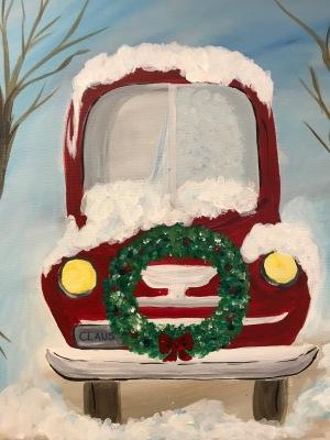Santa's Old Pickup