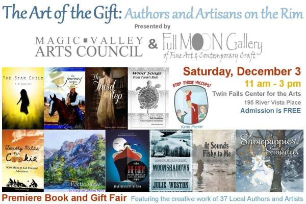 My book signing event in Twin Falls, Idaho