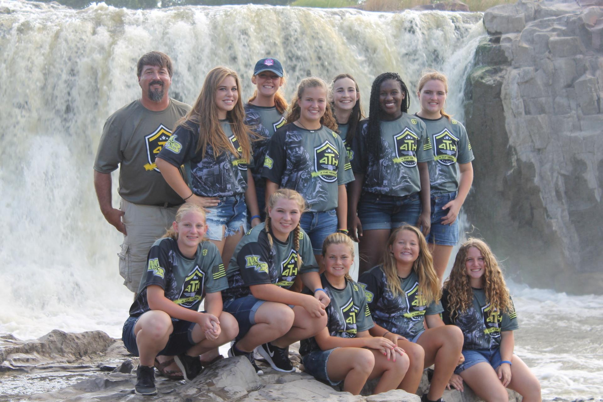 Team at Falls Park
