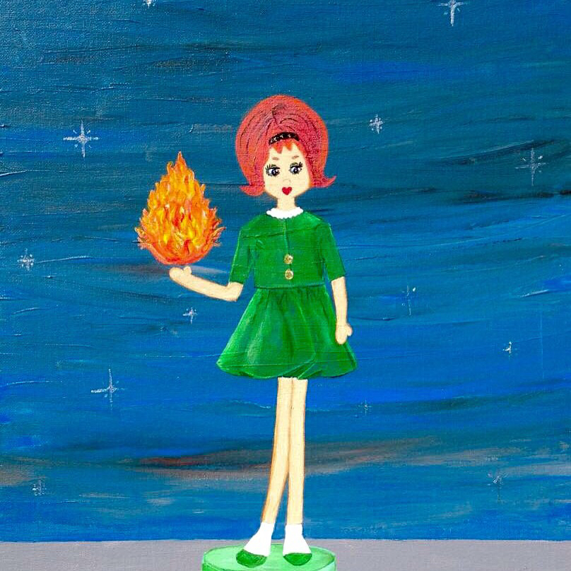 Vesta, Goddess of  the Hearth