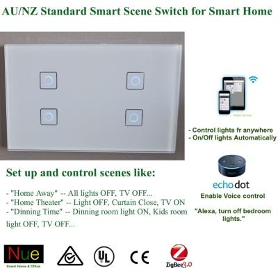 ZigBee Wireless Scene Switch