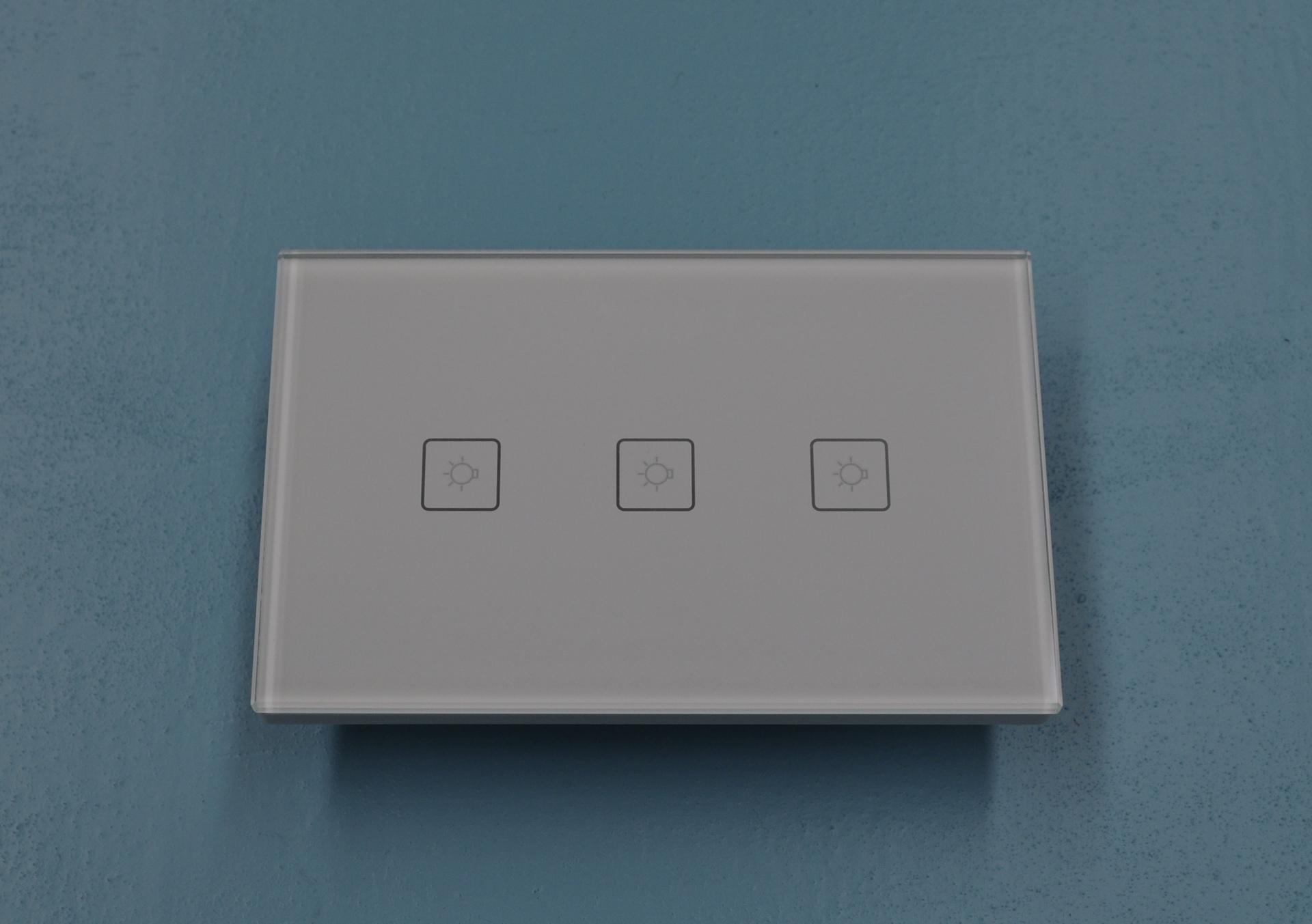 Smart Light Switch- 3 Gang