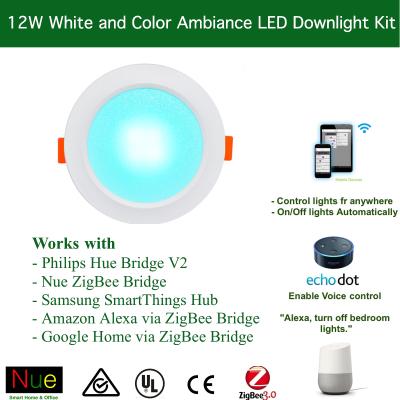 Smart 12W ZigBee RGBW Downlight