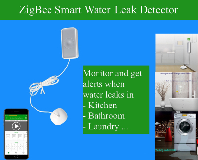 ZigBee Wireless Gas Leakage Sensor