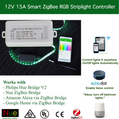 ZigBee Wireless RGB Strip Light Controller
