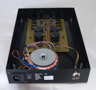 iota-audio-design Signature Reference PSU Internal view