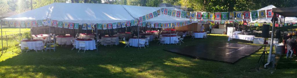 Frame Tents, Dance Platforms, Linens, Decoration