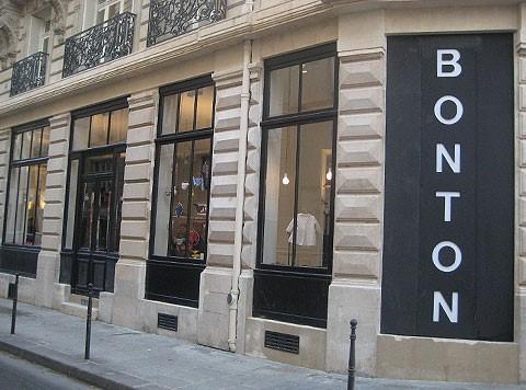 Boutique Bon Ton rue Froissart