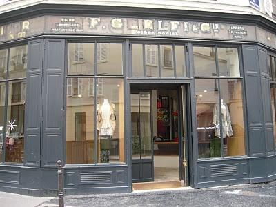 Boutique Isabel Marrant de la rue Saintonge