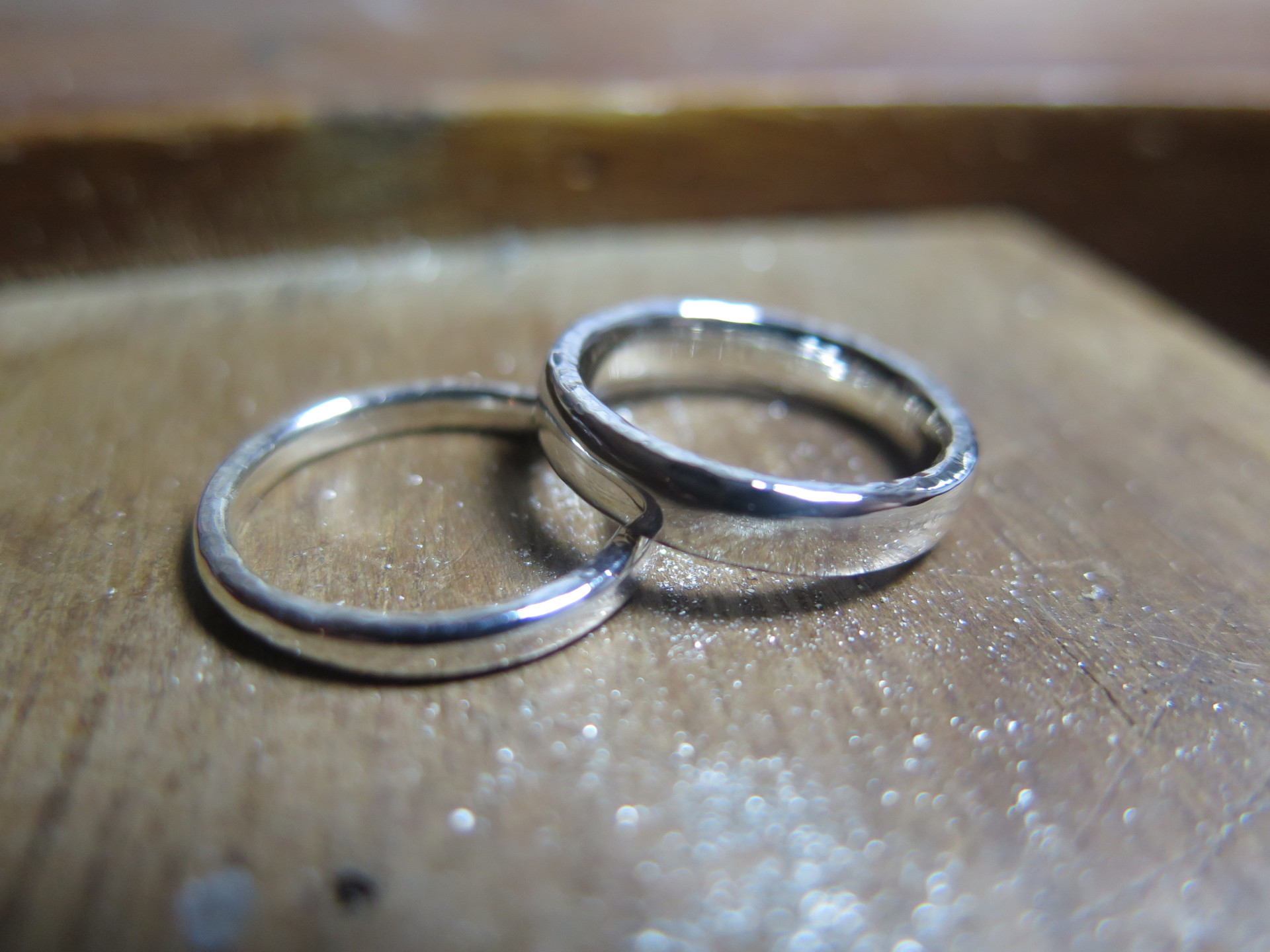 make your own platinum wedding rings