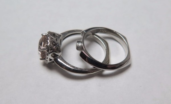 wedding ring, white gold, morganite, engagement ring, bespoke, jeweller, chesham, buckinghamshire