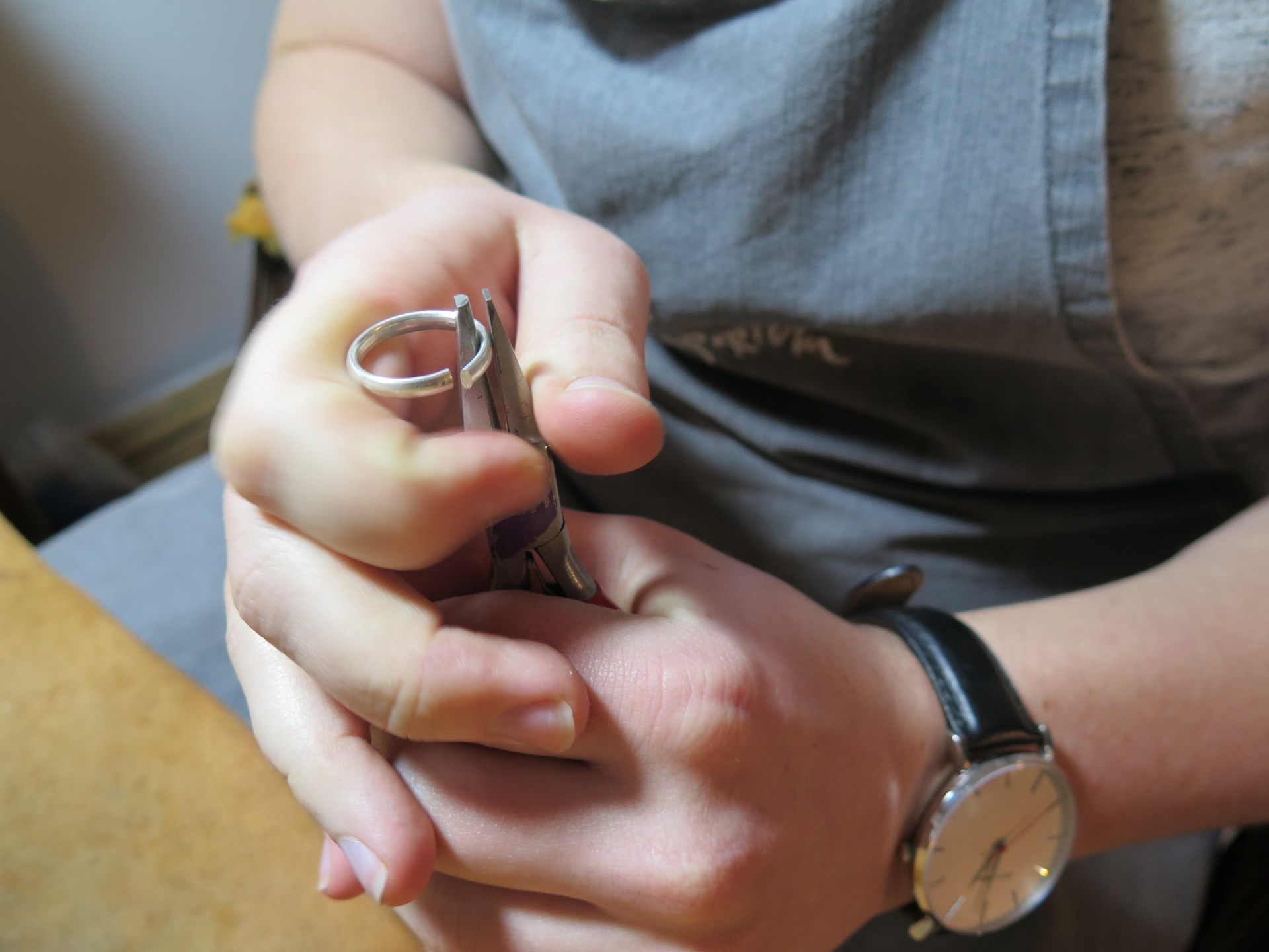make your own gold & silver wedding rings