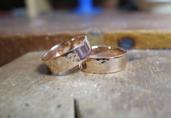 bespoke wedding rings, make your own wedding rings, white gold wedding rings, engaged, getting married