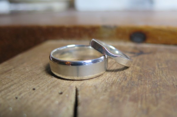 bespoke wedding rings, make your own wedding rings, white gold wedding rings, engaged, getting married