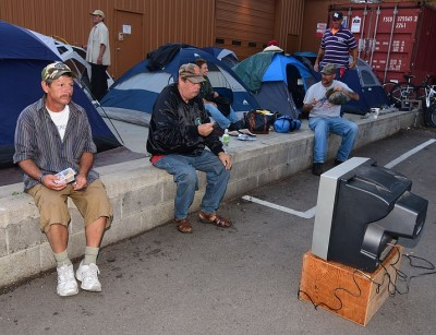 "What used to be ""Tent City"" in Prescott, AZ. Photos by: The Daily Courier"