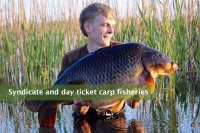 Syndicate & day ticket Carp fisheries