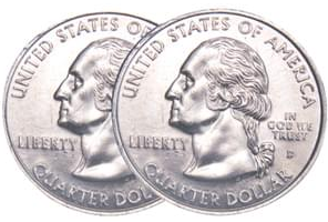 Two Headed Quarter