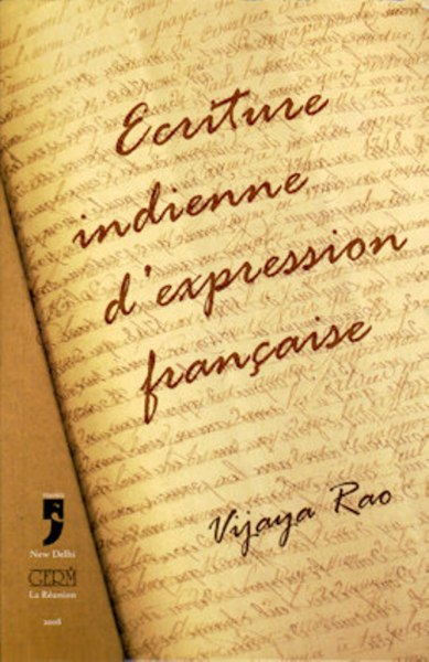 Ecriture Indienne D'expression Francaise