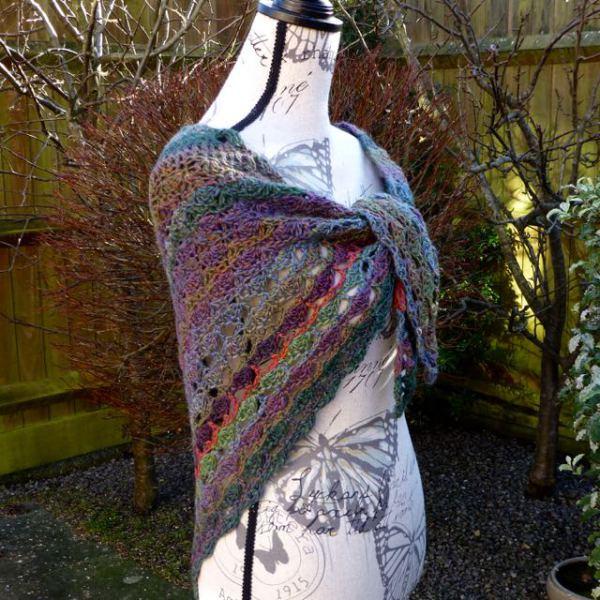 100% wool crochet