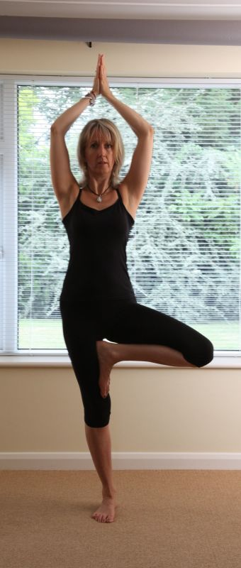 Tree Yoga Pose and why it's soooo clever!