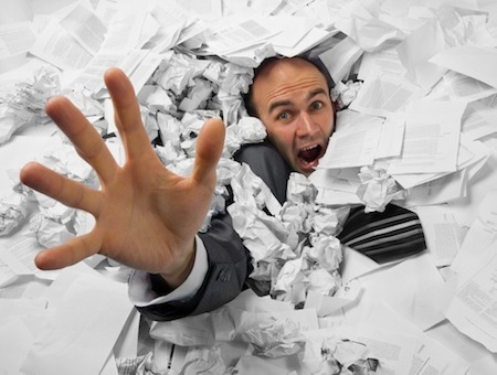 Drowning in a Sea of Paperwork? Time Management Will Save You!