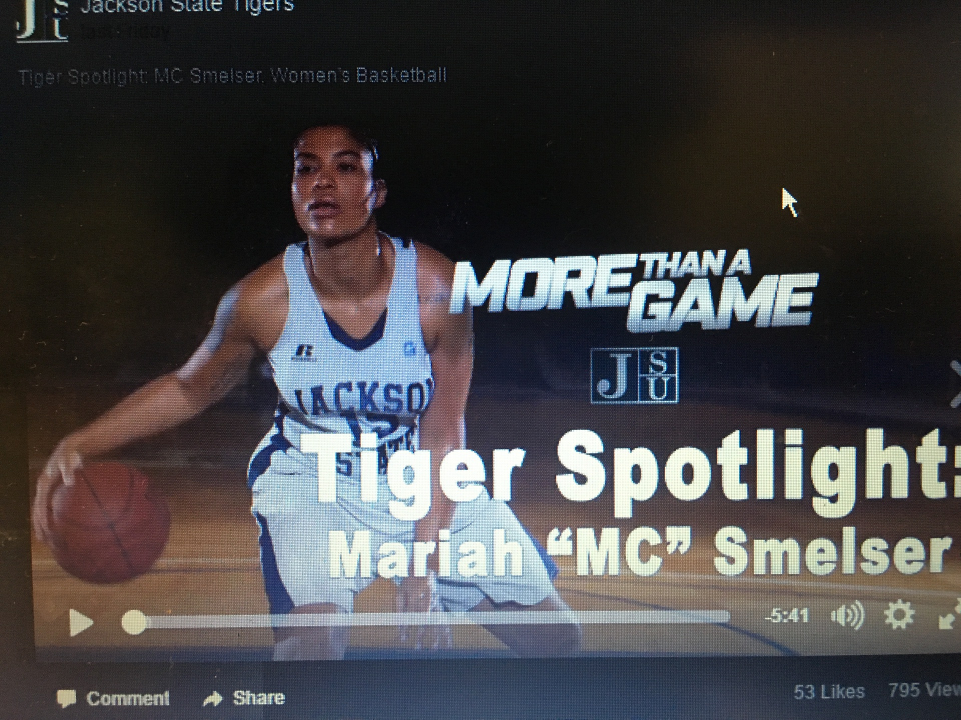 Tigers Spotlight: MC Smelser, Women's Basketball