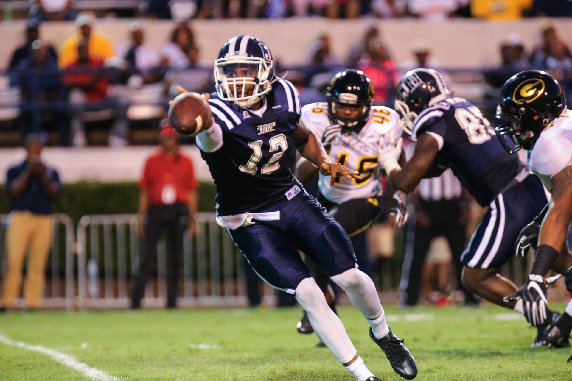Football falls 35-14 to Grambling State in Home Opener