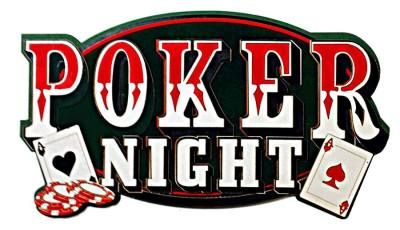 Poker Night 7:30pm