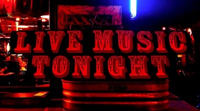 Band or DJ every Weekend at 9pm