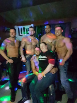 """Ladies Night Out with the """"Real Magic Mike"""" -Male Review March 2017"""