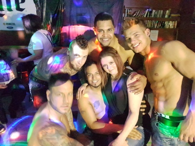 "Ladies Night Out with the ""Real Magic Mike"" -Male Review March 2017"
