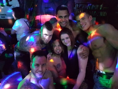 """Ladies Night Out with the """"Real Magic Mike"""" - Male Review March 2017"""