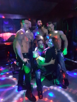 """Ladies Night Out with the """"Real Magic Mike""""- Male Review March 2017"""