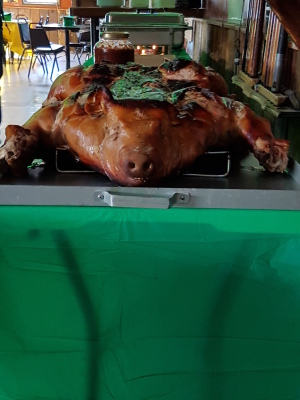 St. Paddy's Day Pig Roast Pot Luck Party