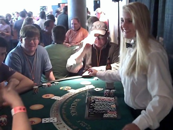 FUN and interactive dealers make each table it's own little party!