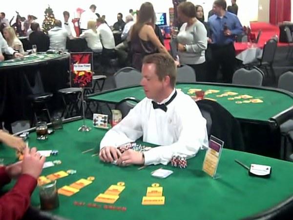 Professional casino quaity tables.
