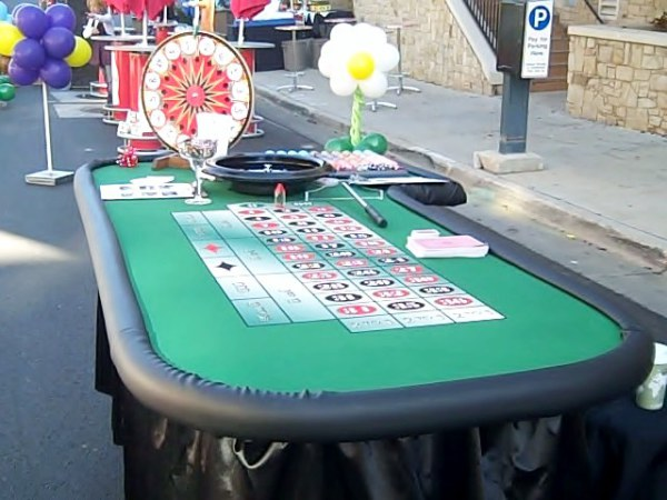 Roulette and Prize wheel game.
