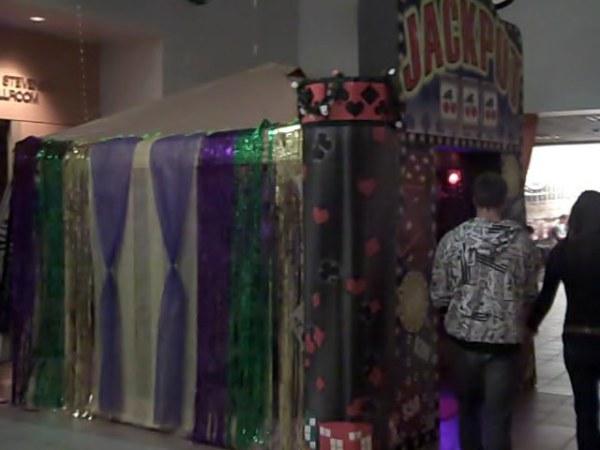 Grand Casino Entrance display.