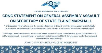 OFFICIAL STATEMENT - Elaine Marshall