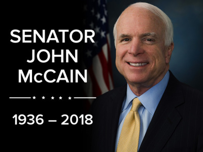 OFFICIAL STATEMENT - The Passing of Senator John McCain