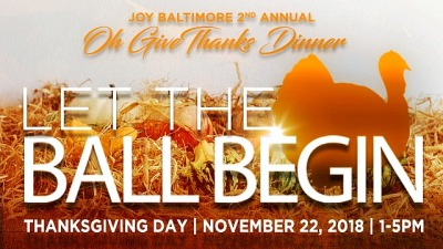"""2nd Annual """"OH GIVE THANKS"""" Dinner - Let the Ball Begin"""