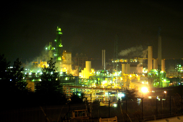 Cheshire & Warrington Industry - Stanlow Refinery - Essar Oil