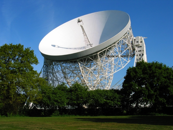 Mark I Telescope at Jodrell Bank (now the Lovell Telescope)