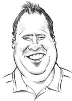 Caricature of Man - Jason Fowler