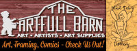 The Art Full Barn - Art, Frames, Comics and Mud Fairy Pottery