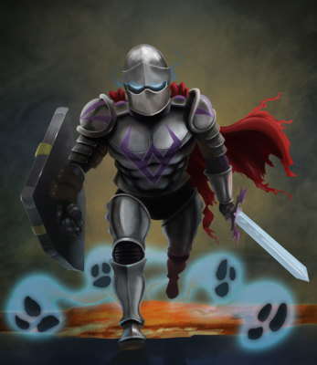 Ghost Knight Concept Art - Jason Fowler