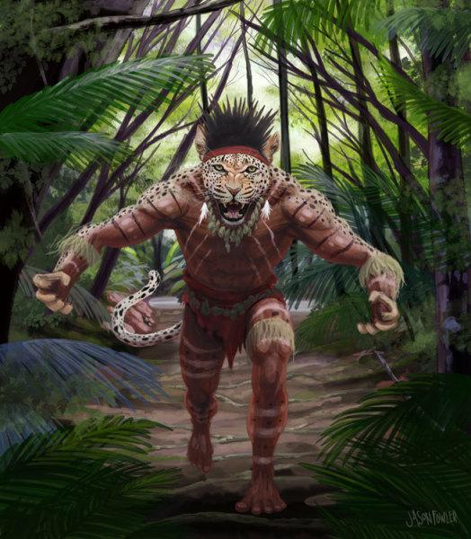 Cat Man Concept Art