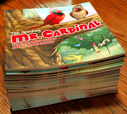New Copies of Mr. Cardinal by Tripp Walker and Jason Fowler