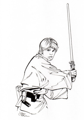 Star Wars Sketches - Luke Skywalker
