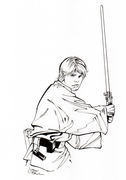 Star Wars Sketches - Luke Skywalker
